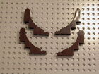 LEGO 4x Dark Brown Arch 1 x 5 x 4 Inverted NEW 7956 7097 10210