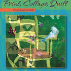 NEW DVD PRINT COLLAGE QUILT Melanie Testa Art Quilts