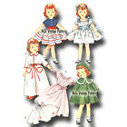 Vintage 1950s Doll Clothes Pattern 14 15 Toni Sweet Sue Miss Revlon