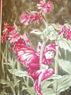 THE RED CAMPION FAIRY Fabric Panel Quilt Block Square 100 Cotton from the est