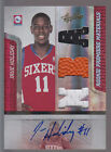 2009 09-10 Absolute RPM Auto Triple Jersey Ball #157 Jrue Holiday RC 171 499