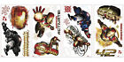 IRON MAN 3 MOVIE WALL DECALS Ironman Stickers Boys Marvel Bedroom Decorations