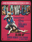 BLOW UP French 23x32 RI poster Michelangelo Antonioni fashion photography