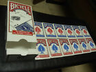Bicycle Poker Size Standard Index Playing Cards 12 Deck Players Pack