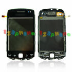 TOUCH SCREEN DIGITIZER LENS + FRAME FOR BLACKBERRY CURVE 9380 #GS-304