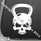 Skull Kettlebell Crossfit Decal cross fit workout equipment exercise sticker
