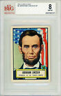 1952 Topps Look N See #4 Abraham Lincoln BVG 8 NM-MT