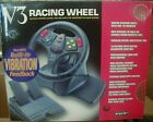 NEW V3 DRIVING STEERING WHEEL CONTROLLER W GAS BRAKE PEDALS FOR N64 NINTENDO 64