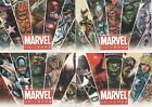 MARVEL UNIVERSE 2011 PROMO CARD SET P1 to P4 (3 x EXCLUSIVE CARDS)