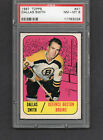 1967-68 TOPPS #41 DALLAS SMITH PSA 8