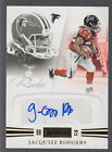 2011 Panini Playbook Rookie Autograph #69 Jacquizz Rodgers RC 29 49 Falcons
