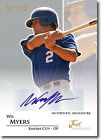 WIL MYERS 2011 Just Rookie RC Signed Autographed Auto # 100 Ball Baseball Card