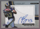 2012 Topps Strata Clear Cut Jumbo Jersey Autograph Auto Chris Givens RC Rams