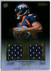 DEMARYIUS THOMAS 2010 TOPPS TRIBUTE DUAL ROOKIE RC JERSEY CARD #6 15!