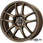 15 DRAG DR31 4 LUG WHEELS RIMS TOYOTA TERCEL CELICA MR2