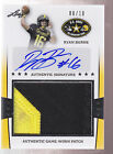 2013 Leaf US Army 2 Color Jumbo Patch Autograph Auto Ryan Burns RC 8 10