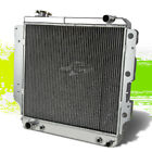 3 ROW CORE FULL ALUMINUM RACING RADIATOR FOR 87 06 JEEP WRANGLER YJ TJ 24 42L