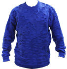 NEW MEN'S AUTHENTIC COOGI SWEATER  ROYAL BLUE COLOR