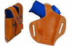 NEW Barsony Tan Leather Pancake Holster+Dbl Mag Pouch Beretta Kahr Comp 9mm 40