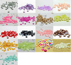 8MM 100 1000pcs Round Flat Back Bead Half Pearl Beads Scrapbooking