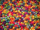 1250g Approx 5000 Mix Opaque Frosted Pony Beads PB9M FRO