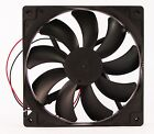 140mm 25mm New Case Fan 12V DC 74CFM CPU Computer Cooling 2wire Sleev 14025 345