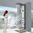 Luxury Wall Mounted Bathroom Shower Faucet Set 8
