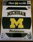 Michigan Wolverines Toilet Tattoo College Football Team Decoration Sticker Decal