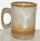 Dunoon Ceramics Made in Scotland Brown Beige Coffee Mug