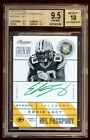 BGS 9.5 *10* EDDIE LACY PRESTIGE RC AUTO SP GREEN INKS ONCARD RC AUTO PACKERS