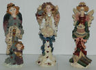 Set of 3 Boyds Bears & Friends Figurines ~ Beatrice, Athena, Angel of Love VGUC