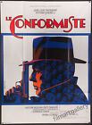 THE CONFORMIST 1971 French 47x63 poster Bernardo Bertolucci Ermanno Iaia art