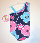 Circo Infant Girl Exotic Floral One Piece Off the Shoulder Swimsuit Size 12M NWT
