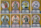 24-diff 2006 Bowman sterling NFL RC gold refractor auto lot Greg Jennings, Addai