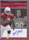 2011 Playoff Contenders Rookie Ink Autograph Auto Ryan Williams RC Cardinals
