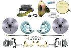 Pontiac Oldsmobile A Body Power Disc Brake Conversion Kit Cutlass GTO F 85