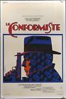 THE CONFORMIST 1971 French 16x24 on linen Bernardo Bertolucci Ermanno Iaia art