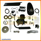 80cc 2 Stroke Cycle Engine Motor Kit for Motorized Bicycle Black Body