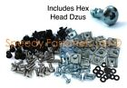 Yamaha YZF R1 2007 2008 Dzus Quick Release Bolts Complete Fairing Bolt Clips Kit