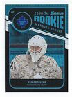 2011-12 O-Pee-Chee Black Rainbow card #555 of Ben Scrivens (Rookie) #059 100