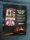 ROWE AMI LASERSTAR EAGLE WALL HANGING  JUKEBOX FLYER