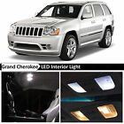 12x White Interior LED Lights Package for 2005 2010 Jeep Grand Cherokee + TOOL