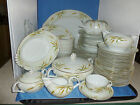 89 Pcs Wheat Gold Trim Narumi  bone china NAR66  FREE SHIPPING