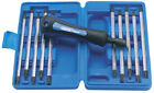 Draper 64672  reversible blade screwdriver set (giving 20 tip sizes) (11 piece)