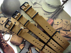 NATO G10 Khaki Brown Nylon Military Army PVD watch band strap IW SUISSE 18 20 22