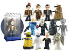 DOCTOR WHO MICRO FIGURE 15 CHOOSE YOUR CHARACTER WITH BRIX BOX BRAND NEW