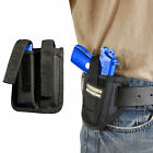 New Barsony Ambi Pancake Holster +Dbl Mag Pouch Star Bersa 380 Ultra Comp 9mm 40