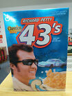 Richard Petty 43'S # 1 Superbird Cheerios Limited Edition Sealed Cereal Box Mint