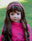 Wig By Masterpiece Dolls For 48 Christina Brunette (WIG ONLY-DOLL NOT INCLUDED)
