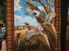 COLORFUL PHEASANT COTTON FABRIC